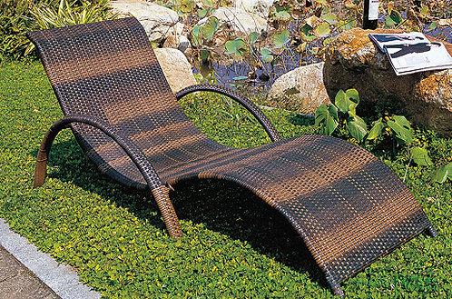 Fixed Sunbathing Lounge Chair