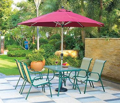 5-Piece Stackable Outdoor Lounge Set