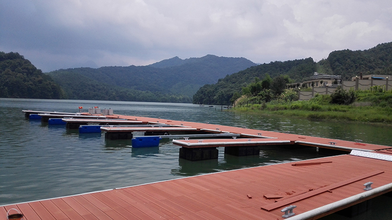 Marina Dock with Decking