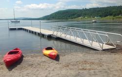 L Shape Floating Dock