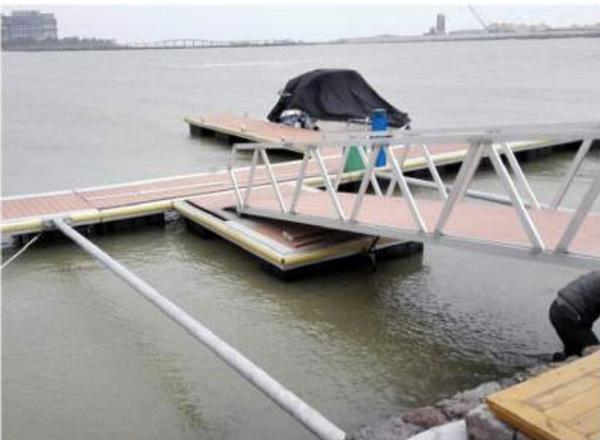 2 Meter Wide Boat Dock