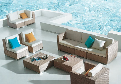 8-Piece Outdoor Sofa Set