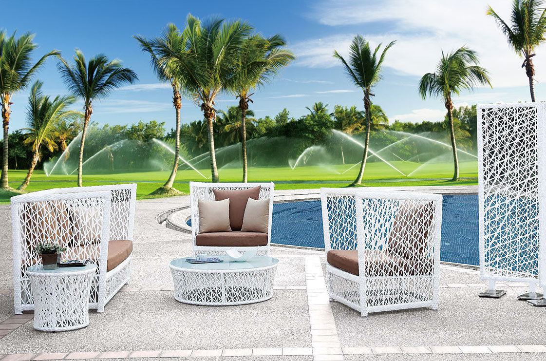 Loungeset 50 Euro.5 Piece Outdoor Lounge Set