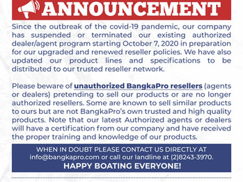 Reminder Regarding Our Authorized Resellers