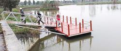 8 x 3m Dock with Brace