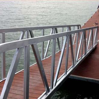 Galvanized Gangway with Decking