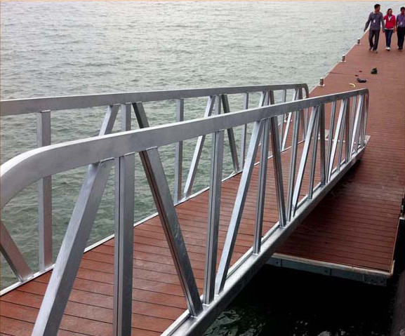 Galvanized Gangway with Decking