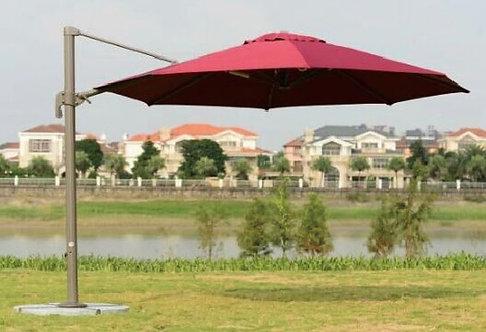 10 Feet Offset Easy Lift Outdoor Umbrella
