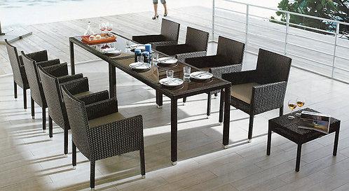 10-Piece Outdoor Dining Set