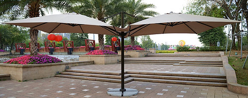 20 Feet Double Side Commercial Outdoor Umbrella