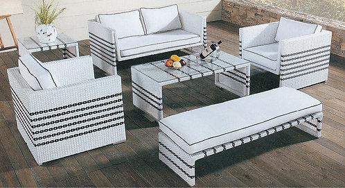 6-Piece Outdoor Lounge Set