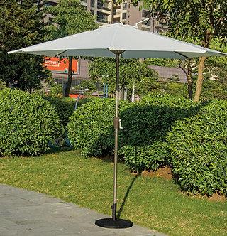 10 Feet Outdoor Umbrella Aluminum Pole Polyester Top