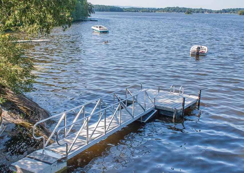 3 x 2m Floating Dock