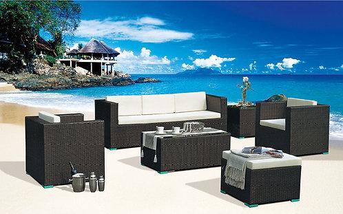 6-Piece Sectional Outdoor Sofa Set