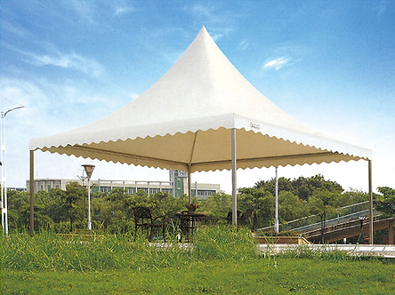 13 Feet by 13 Feet Raised Outdoor Tent