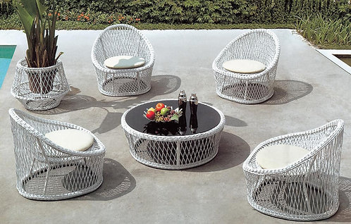 6-Piece Outdoor Lounge Set