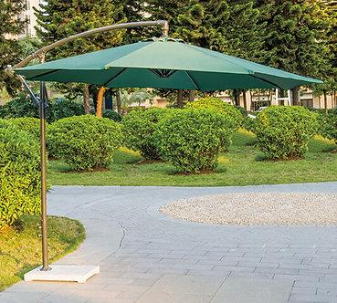 10 Feet Offset Outdoor Cantilever Umbrella