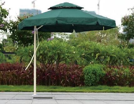 10 Feet Offset Octagon Pull Lever Outdoor Umbrella