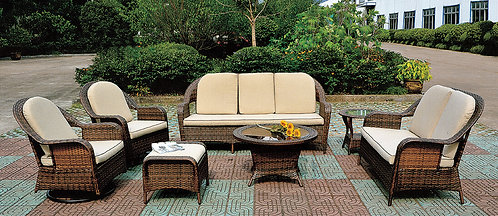 8-Piece Outdoor Lounge Set