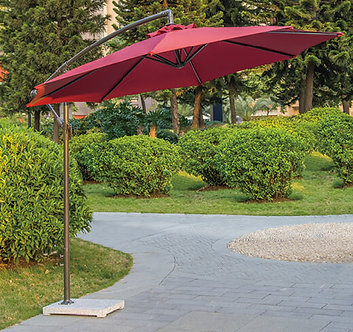 10 Feet Offset Cantilever Outdoor Umbrella