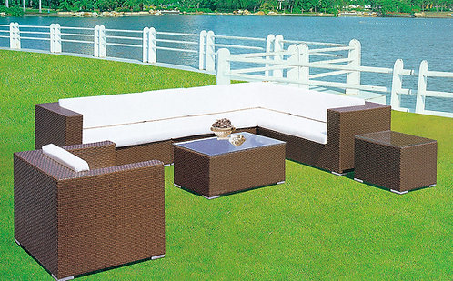 6-Piece Outdoor Sofa Set