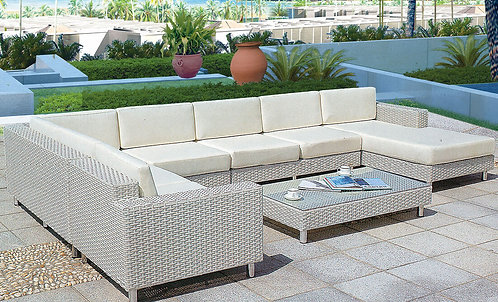 5-Piece Sectional Outdoor Sofa Set