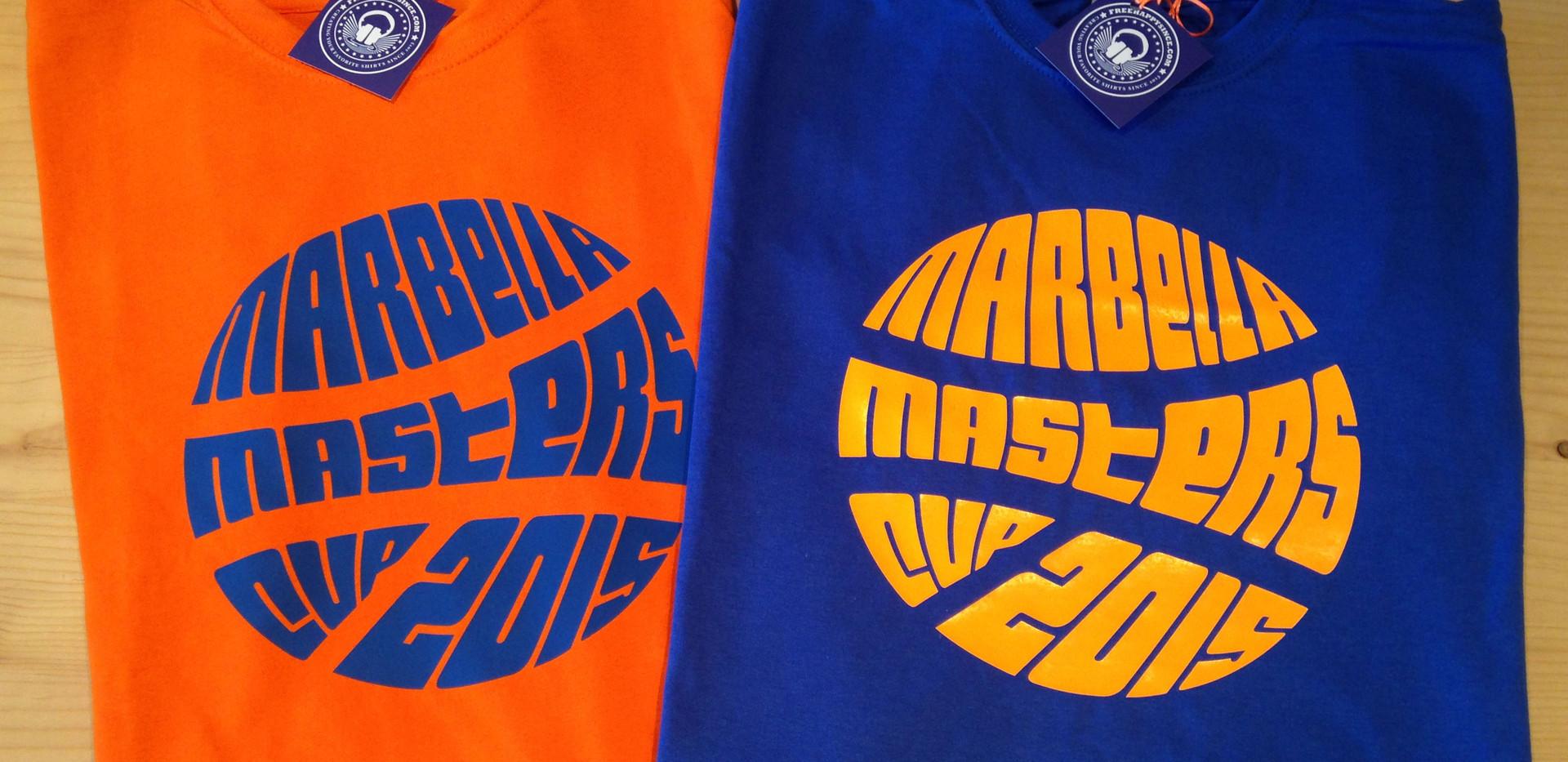 camisetas invertidas azul/naranja fhsince