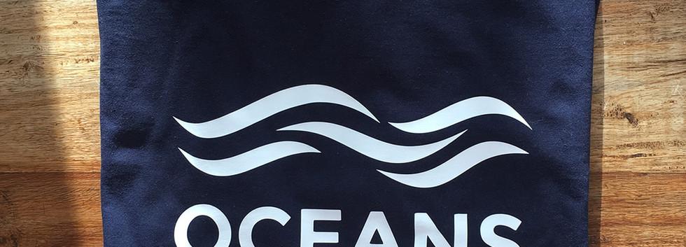 Camiseta oceans azul marino fhsince