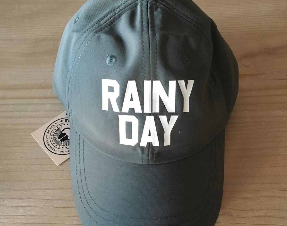 gorra lluvia fhsince