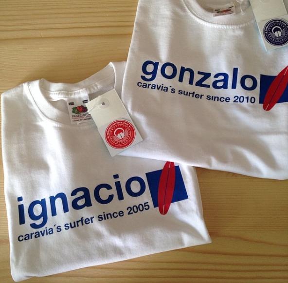Camisetas nombres a dos colores fhsince