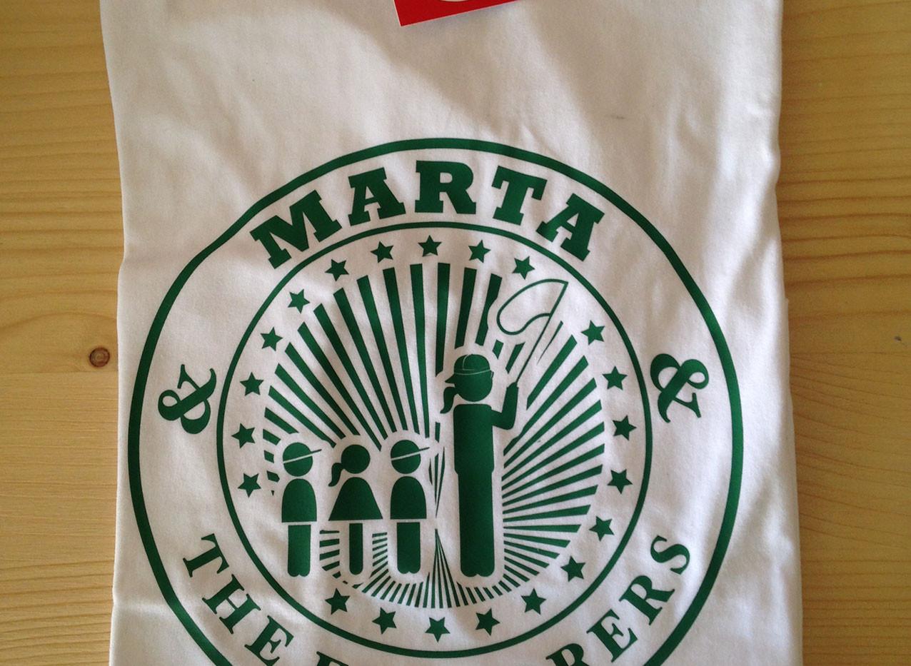 camiseta exploradora blanca/verde fhsince