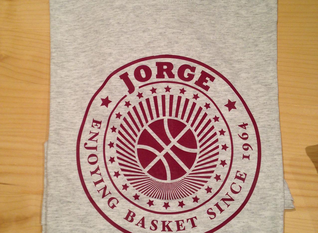 camiseta clásica basket gris/granate fhsince