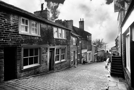 haworth main st black and white jan 2014