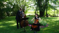 Duo à cordes, cérémonie de mariage
