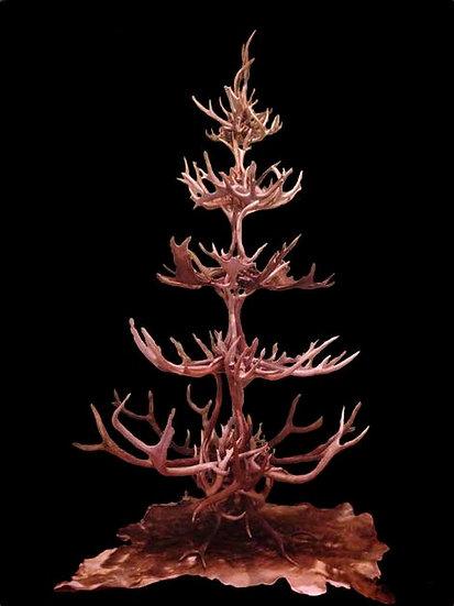 MIX ANTLER CHRISTMAS TREE