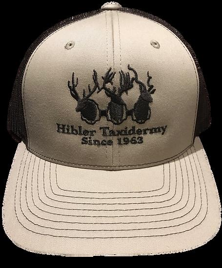 HIBLER TAN STRUCTURED CAP