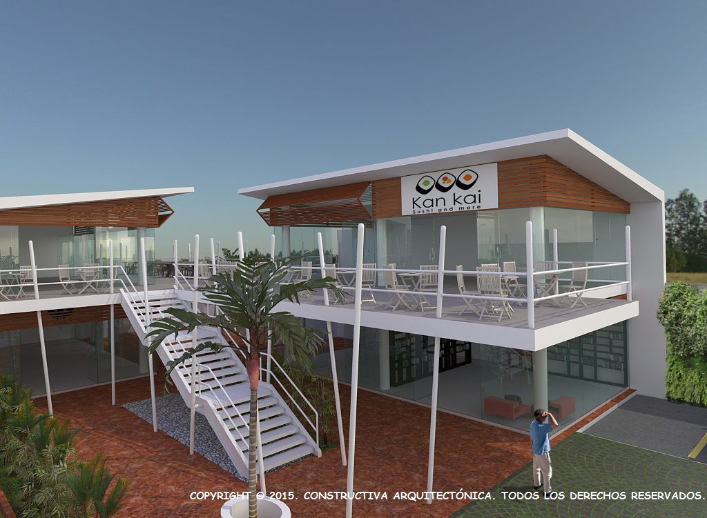 Proyecto Plaza Comercial Twins