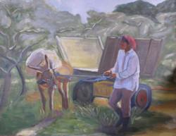 L'âne et la femme