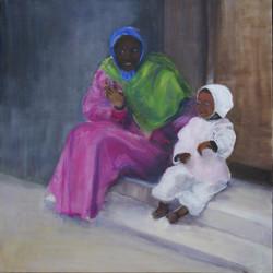 La femme et son enfant
