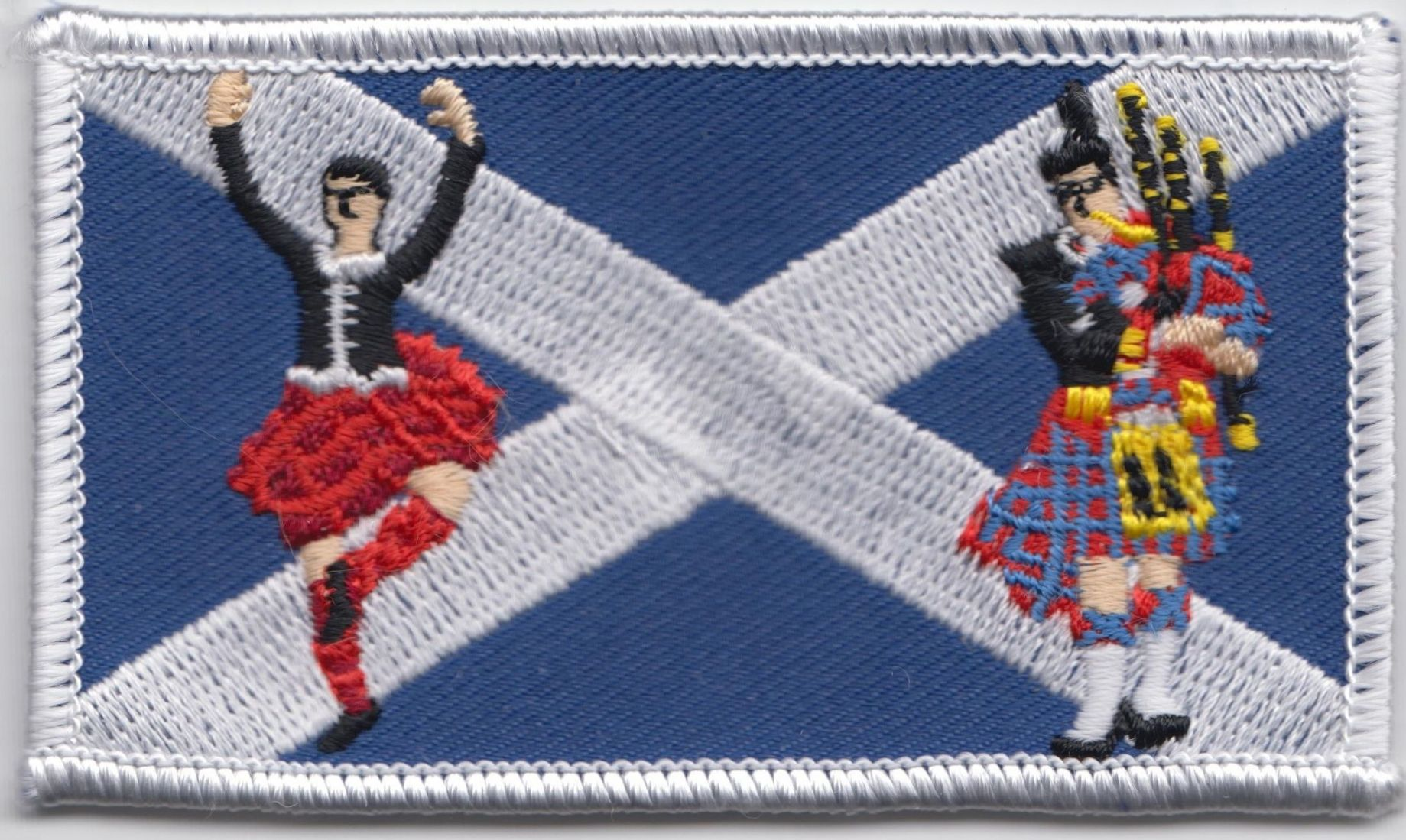 Highland Dancer & Piper