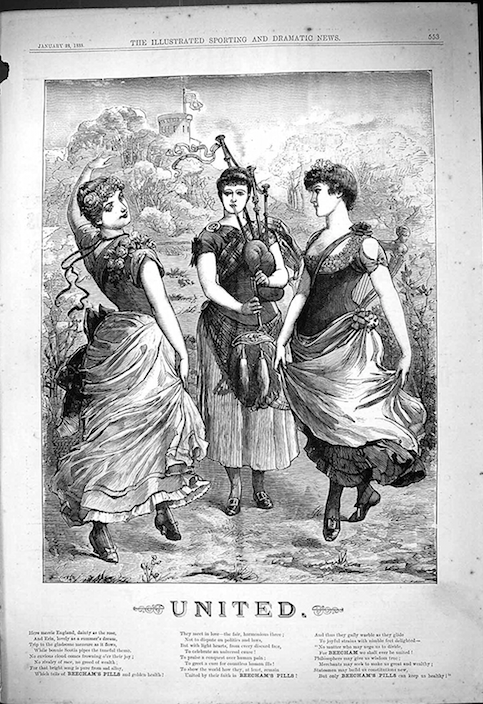 Beecham's Pills Advertisement, 1888