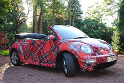 A convertible, no less!