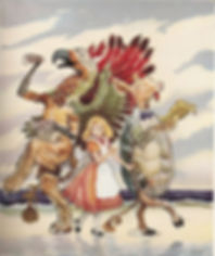 The Lobster Quadrille - G. W. Backhouse, 1951