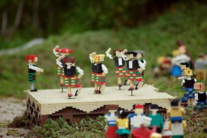 Lego Highland Dancers