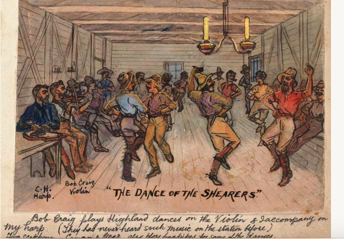 The Dance of the Shearers (1885)