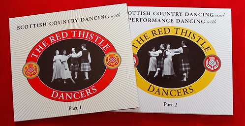 "DOWNLOAD SET -  ""Scottish Country Dancing - Parts 1 & 2"" & ""Performance Dancing"""