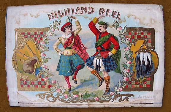 Highland Reel Cigar Box