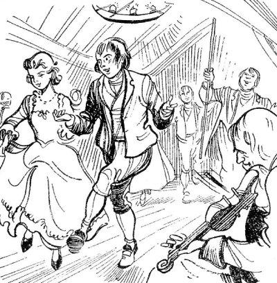 Robert Burns Dancing
