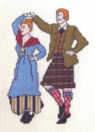 Scottish Dancers at the Ceilidh