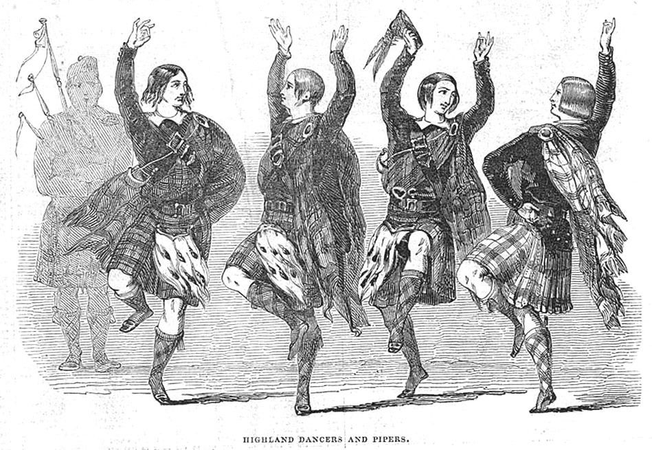 Highland Dancers & Pipers